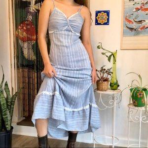 Retro Prairie Maxi Dress